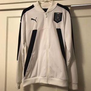 Puma Italian Soccer National Team Track Jacket